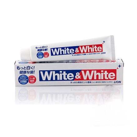 KEM ĐÁNH RĂNG LION WHITE & WHITE – NHẬT