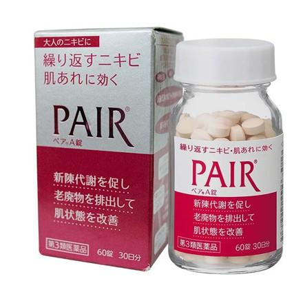 Viên uống trị mụn trứng cá Pair Nhật Bản