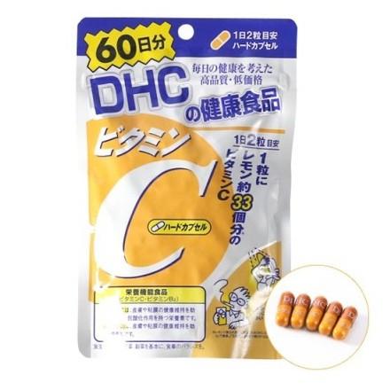 Viên uống hỗ trợ bổ sung DHC vitamin C Nhật Bản