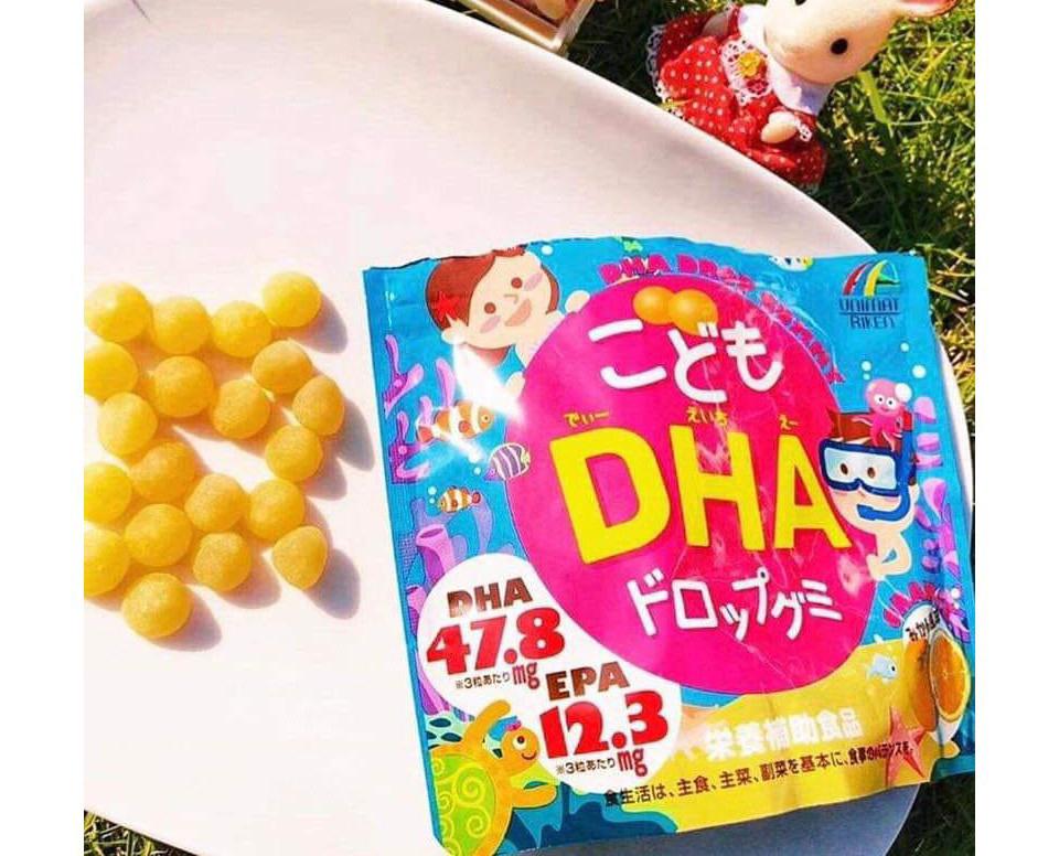 Kẹo bổ sung DHA cho bé