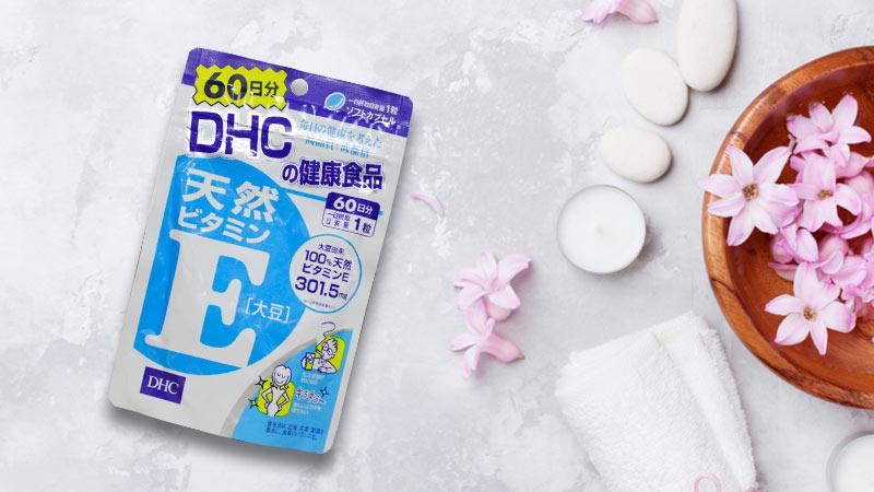 Viên uống hỗ trợ bổ sung DHC vitamin E Nhật Bản