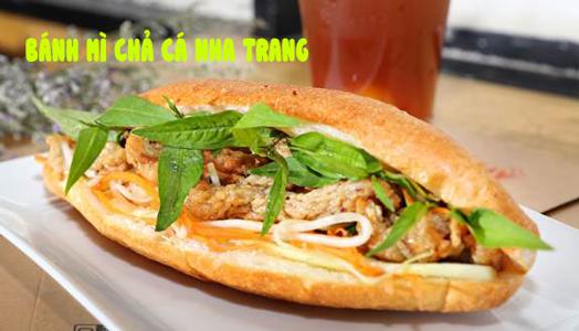 Bánh mì chả cá Nha Trang