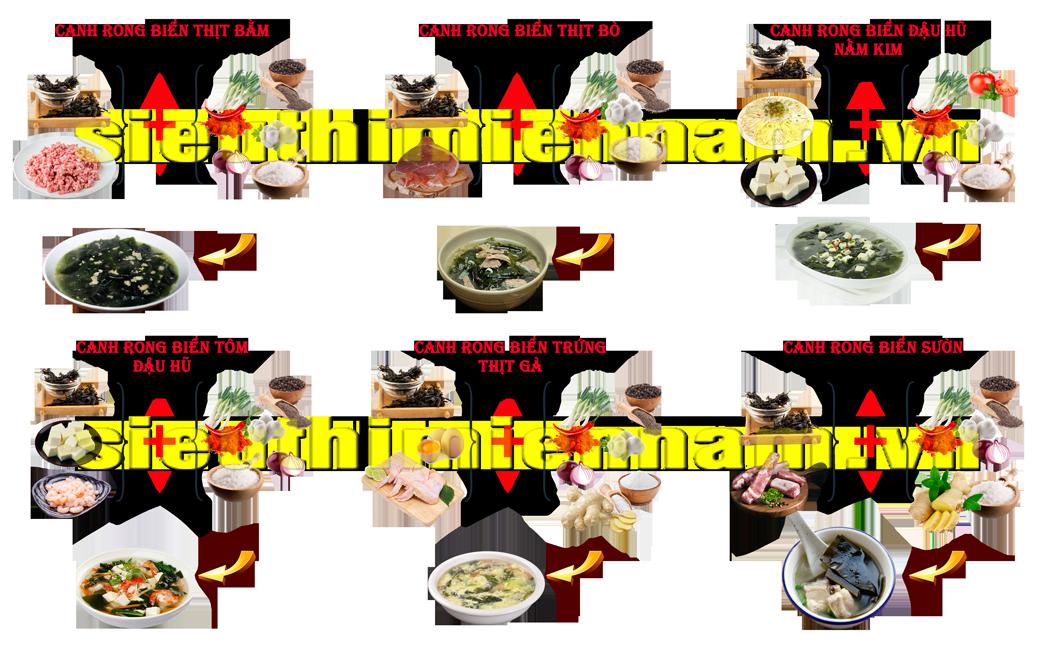 6 loại rong biển sấy khô phổ biến