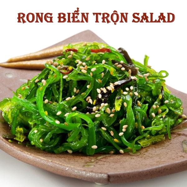 rong biển trộn salad