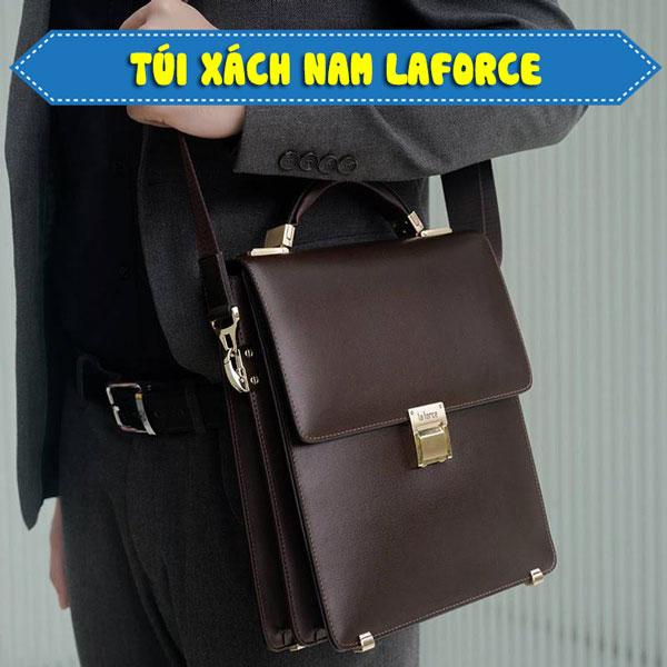 thương hiệu túi xách nam Laforce